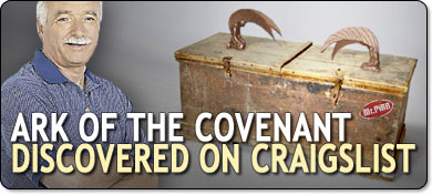 Ark of the Covenant Discovered on Craigslist